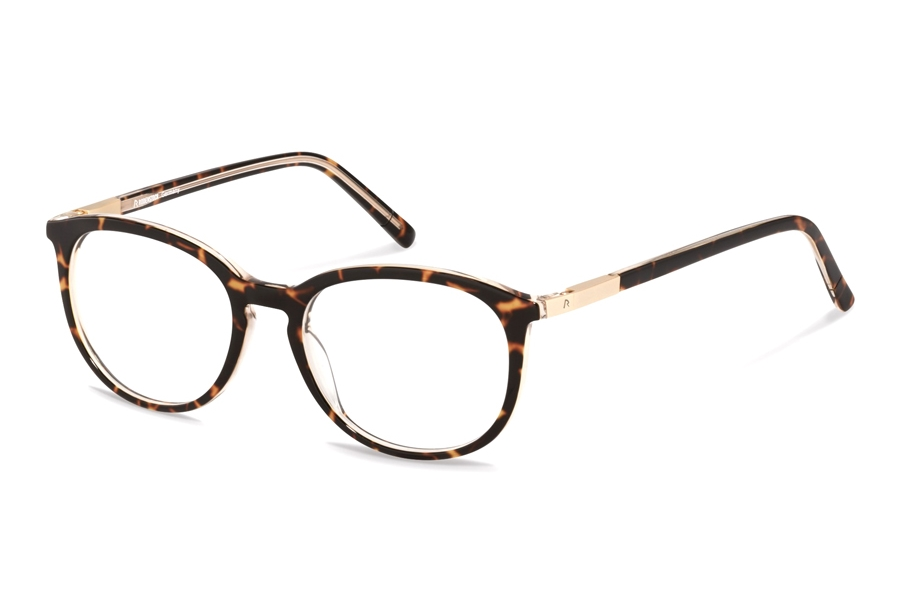 Rodenstock R5322 Eyeglasses in D Dark Havana Layered