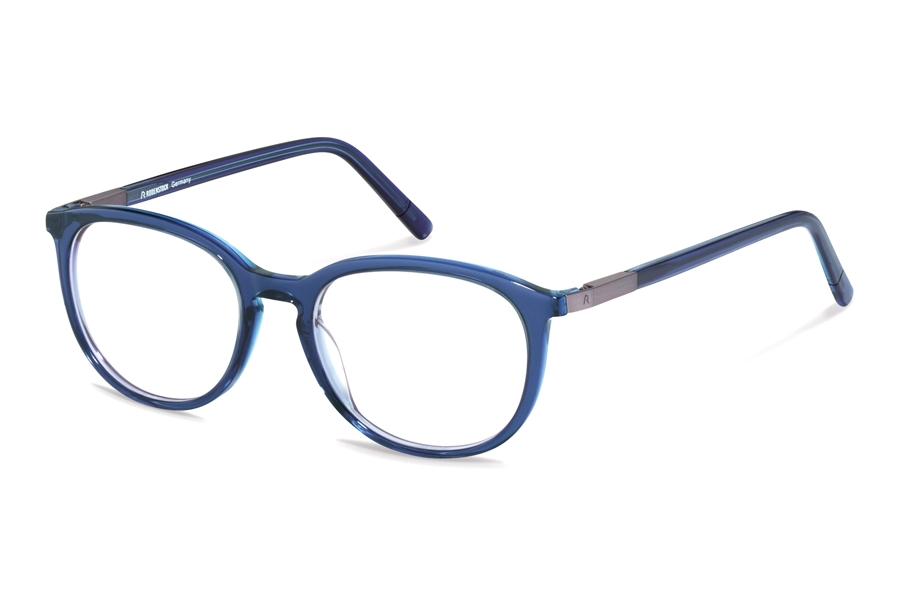 Rodenstock R5322 Eyeglasses in E Dark Blue Layered