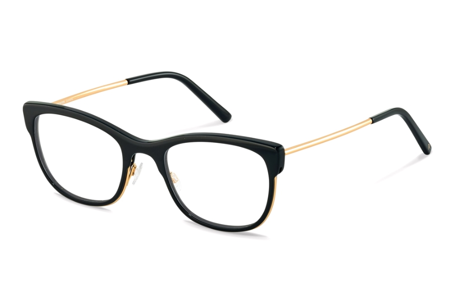 Rodenstock R5331 Eyeglasses in A Black Gold