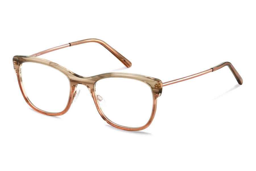 Rodenstock R5331 Eyeglasses in B Havana Rose Gradient
