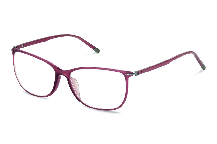 Rodenstock R7038 Eyeglasses in B Red