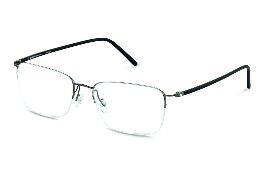 Rodenstock R7051 Eyeglasses in A Dark Grey/ Black