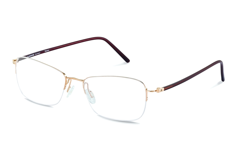 Rodenstock R7053 Eyeglasses in A Gold/ Brown