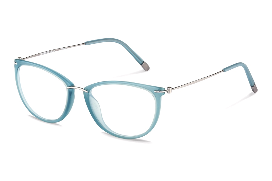 Rodenstock R7070 Eyeglasses in C Light Blue/ Light Gunmetal