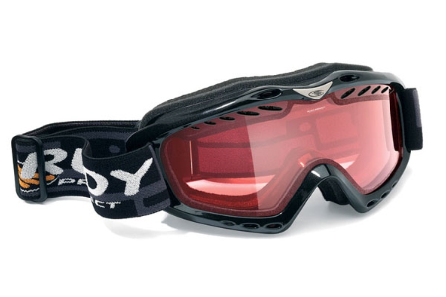 Rudy Project Klonyx - Snow Collection Goggles in MK122103 Black Gloss / Kayvon Red Double Lens