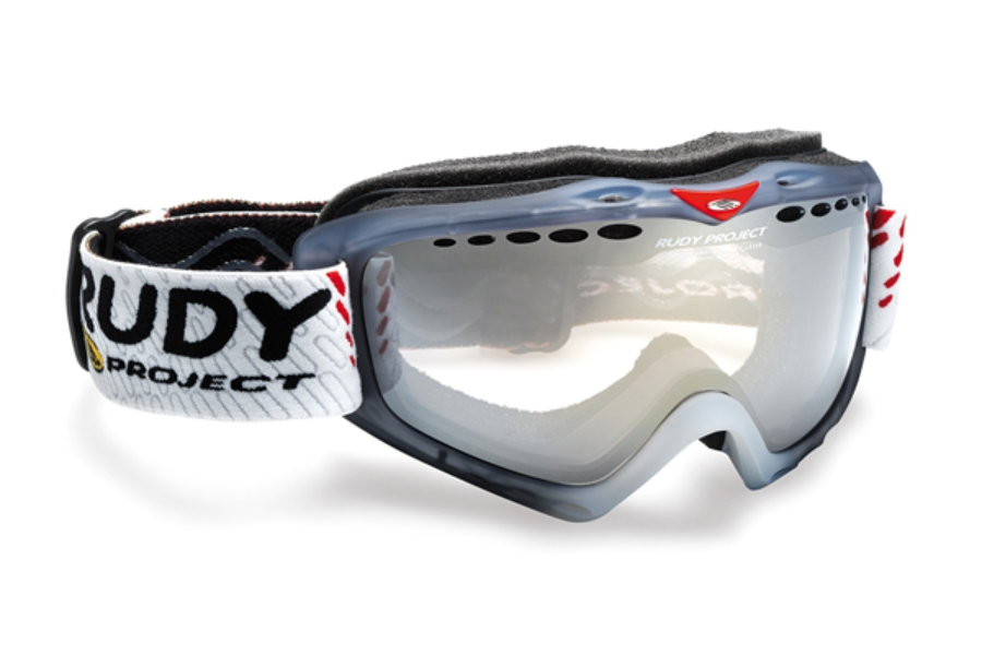 Rudy Project Klonyx - Snow Collection Goggles in MK124287 Sferik Frozen Ash Crystal Kayvon Red Dl Spheric