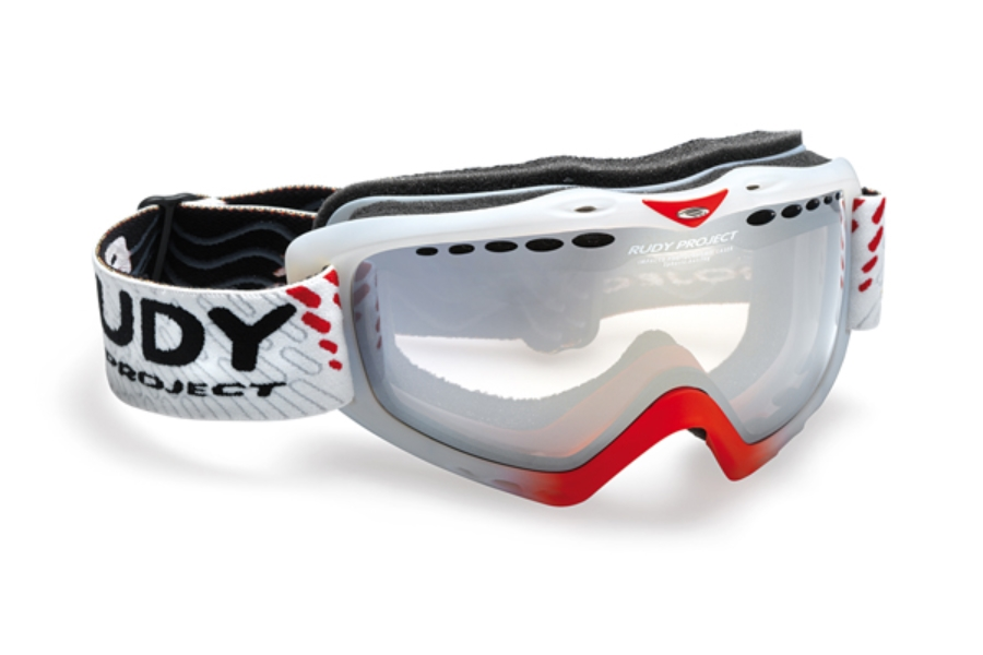 Rudy Project Klonyx - Snow Collection Goggles in MK128284 Sferik Frozen Crystal Red Fluo Impactx Photochro