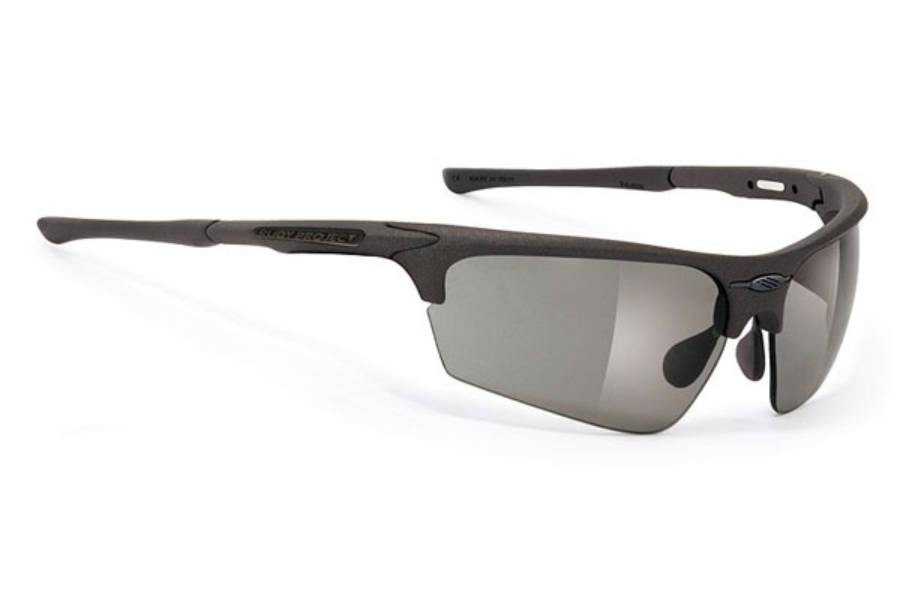 Rudy Project Noyz Stealth Sunglasses in Matte Black Stealth / Impactx Pure Grey