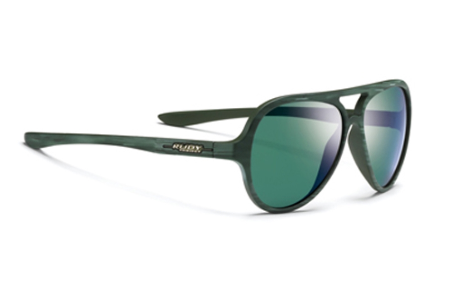 Rudy Project Momentum Sunglasses in SP423330-0000 Green Wood Matte Laser Musk