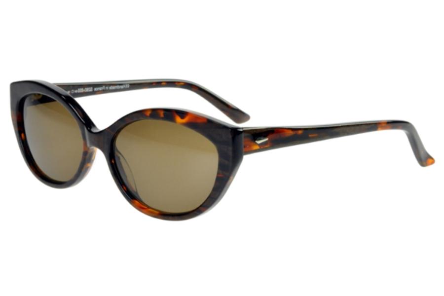 46e88997bb Beausoleil Paris S 280 Sunglasses in 855 Dark Tortoise w Polarized Lenses  ...