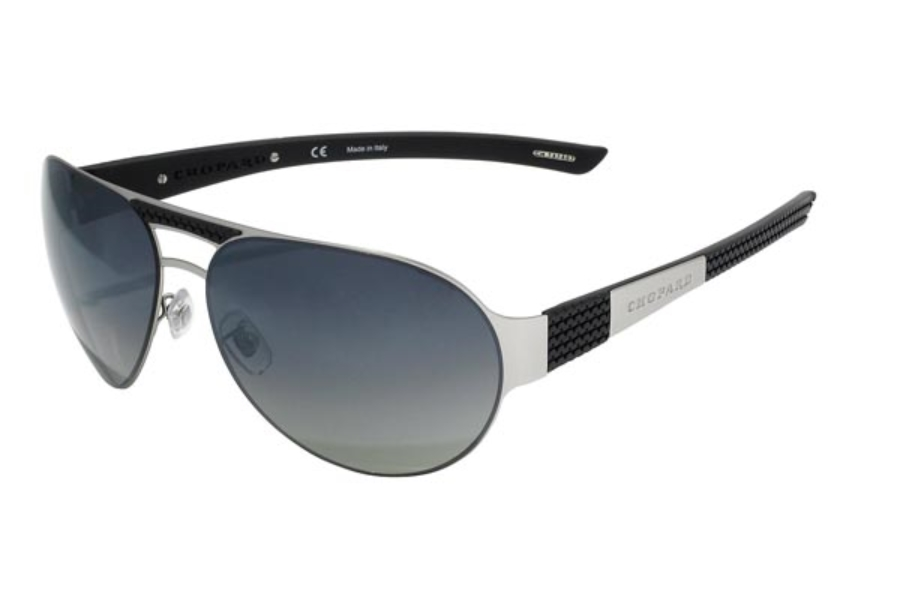 059cd66719 ... Chopard SCH 873 Sunglasses in 581P Ruthenium Black Rubber   Green  Polarized Lenses ...