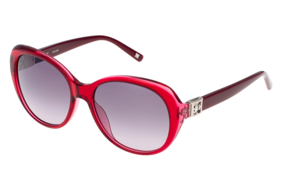 Escada SES 344S Sunglasses in 0U83 Red-Dark Red Stones/Gradient Grey
