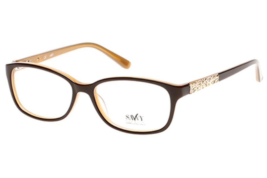 Savvy SAVVY 401 Eyeglasses in 050 - Dark Brown/Other