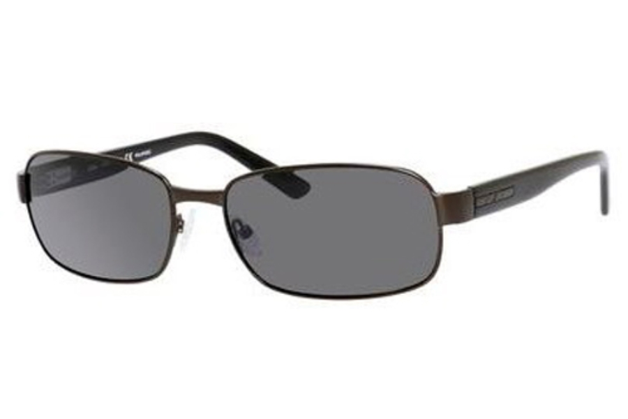 Safilo Elasta Saf 1000/S Sunglasses in JVXP Brushed Graphite (Y2 gray polarized lens)