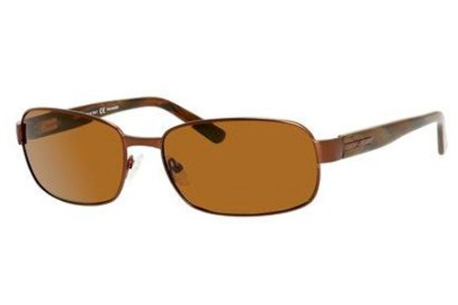 Safilo Elasta Saf 1000/S Sunglasses in JWXP Brushed Brown (VW dark brown polarized lens)