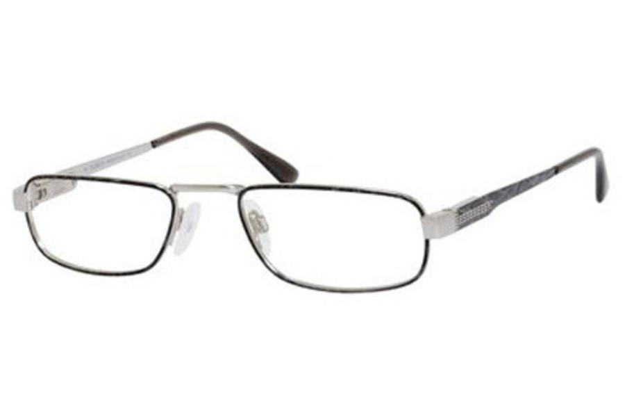 5a1b91bcde ... Safilo Elasta Library LI 1321 Half Eye (Elasta 1 Spring Hinge)  Eyeglasses in 002R ...