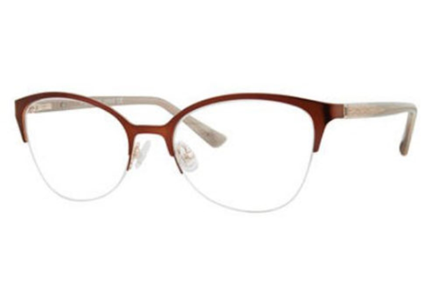 Saks Fifth Avenue SAKS FIFTH AVENUE 314 Eyeglasses in 0FG4 Brown Gold