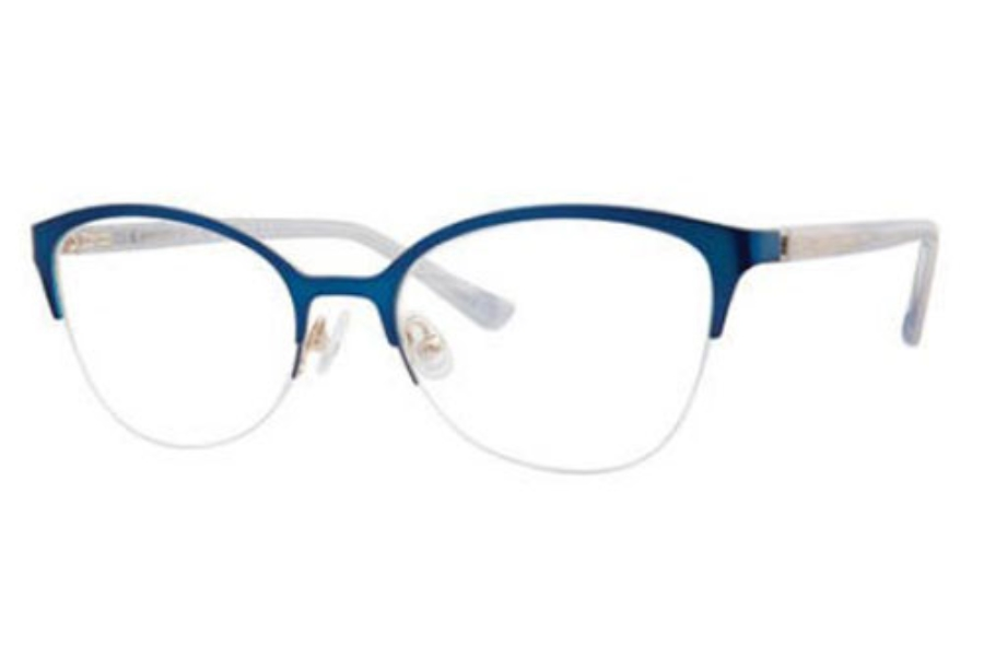 Saks Fifth Avenue SAKS FIFTH AVENUE 314 Eyeglasses in 0KY2 Blue Gold