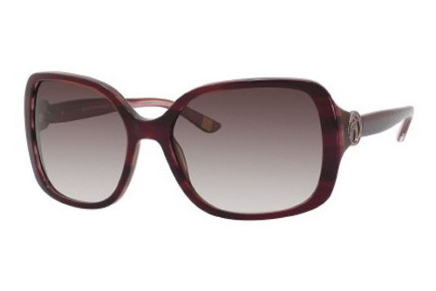 Saks Fifth Avenue Saks Fifth Avenue 70/S Sunglasses in 0EQ5 Coffee Pink Ice (J8 mauve gradient lens)