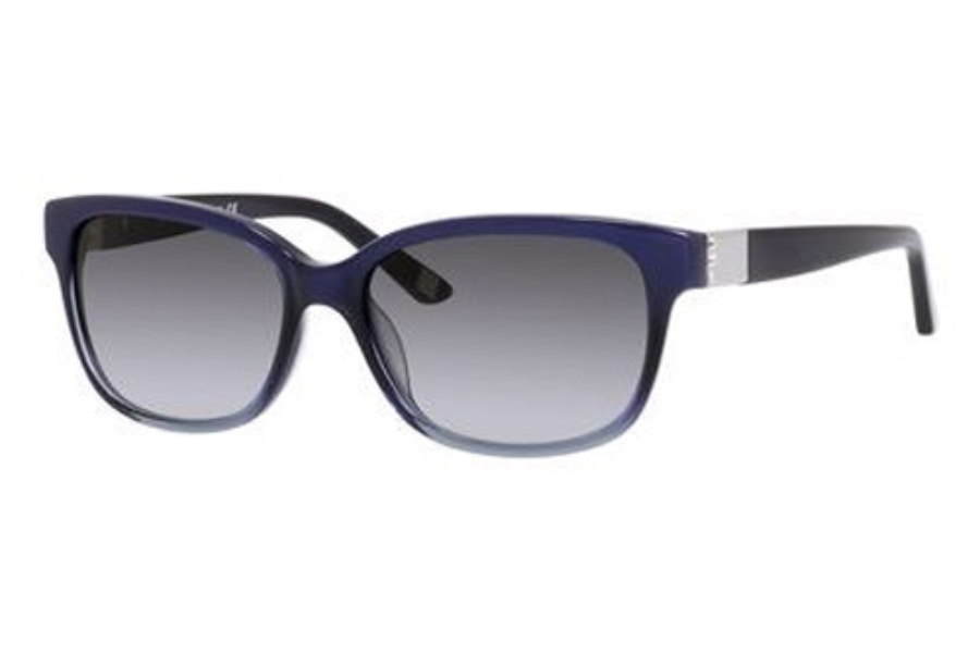 Saks Fifth Avenue Saks Fifth Avenue 80/S Sunglasses in 0EUK Blue Fade (Y7 gray gradient lens)