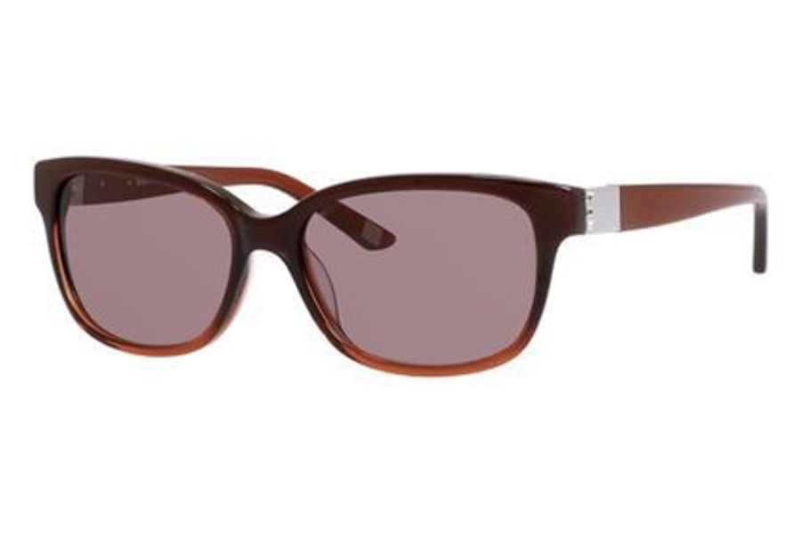 Saks Fifth Avenue Saks Fifth Avenue 80/S Sunglasses in 0JPL Copper Fade (CO red brown lens)