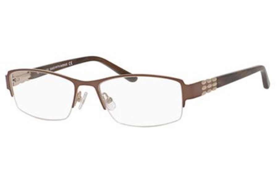 Saks Fifth Avenue SAKS FIFTH AVE 288 Eyeglasses in 0RF4 Brown Gold