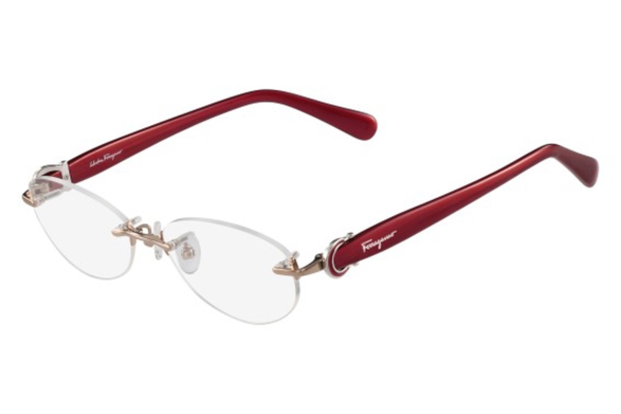 Salvatore Ferragamo SF2531A Eyeglasses in 705 Shiny Bronze