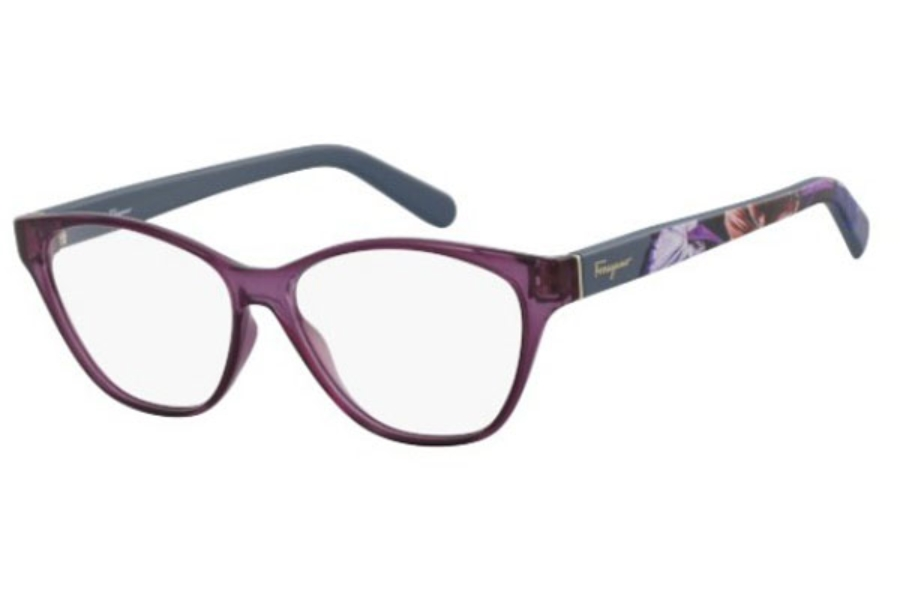 Salvatore Ferragamo SF2836 Eyeglasses in 500 Violet
