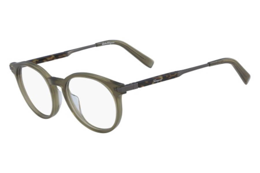 Salvatore Ferragamo SF2802 Eyeglasses in 322 Crystal Khaki