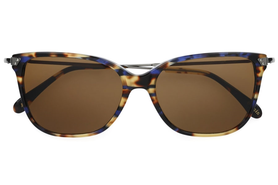 Savile Row Britian Sunglasses in Chelonian Blue