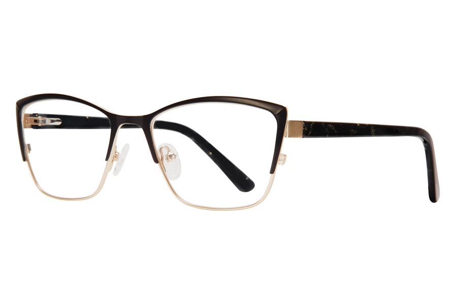 Serafina Cali Eyeglasses in Black