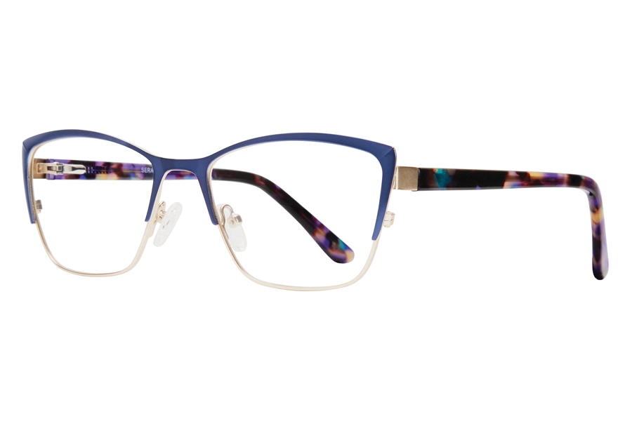 Serafina Cali Eyeglasses in Blue