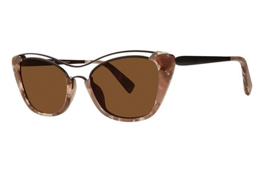 Seraphin by OGI BRAEBURN SUN Sunglasses in 8233 Tiramisu Brown