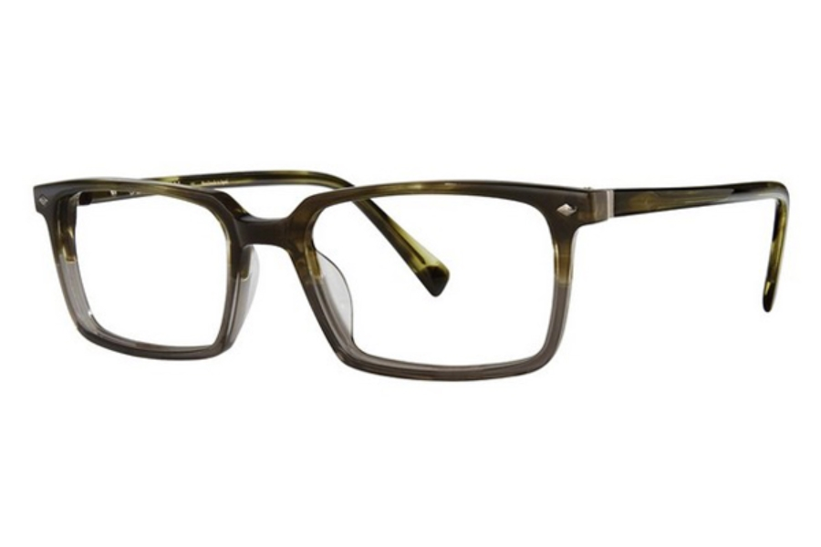 Seraphin by OGI WEXFORD Eyeglasses in 8827 Olive Demi