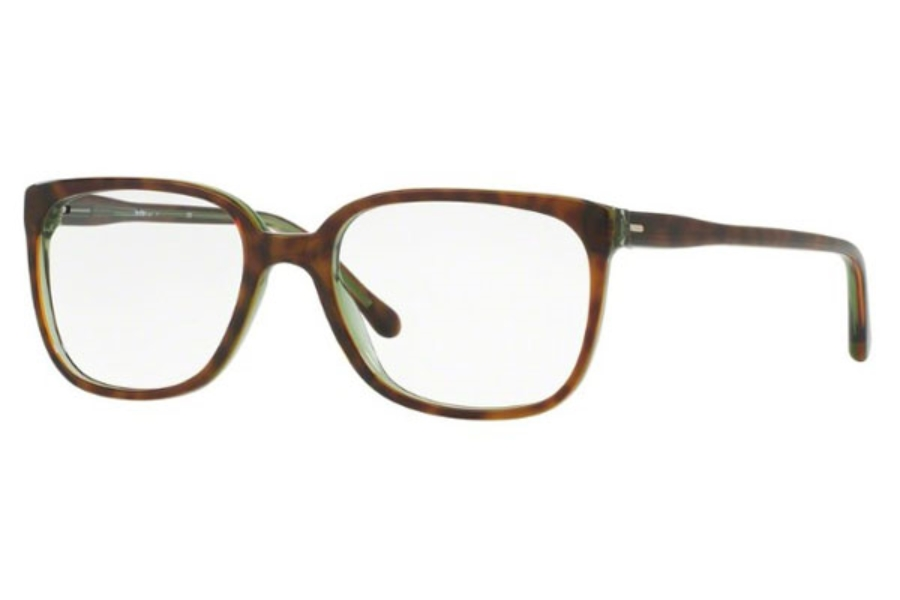 Sferoflex SF 1145 Eyeglasses in C526 Top Havana On Opal Green