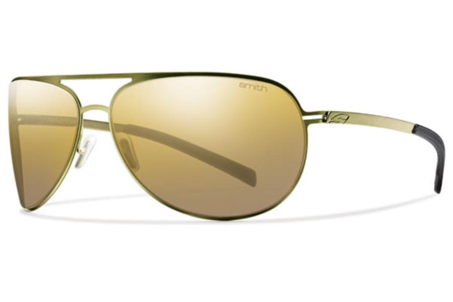 d2421c48c3 ... Smith Optics Showdown Sunglasses in Matte Gold   Polarized Gold  Gradient Mirror ...