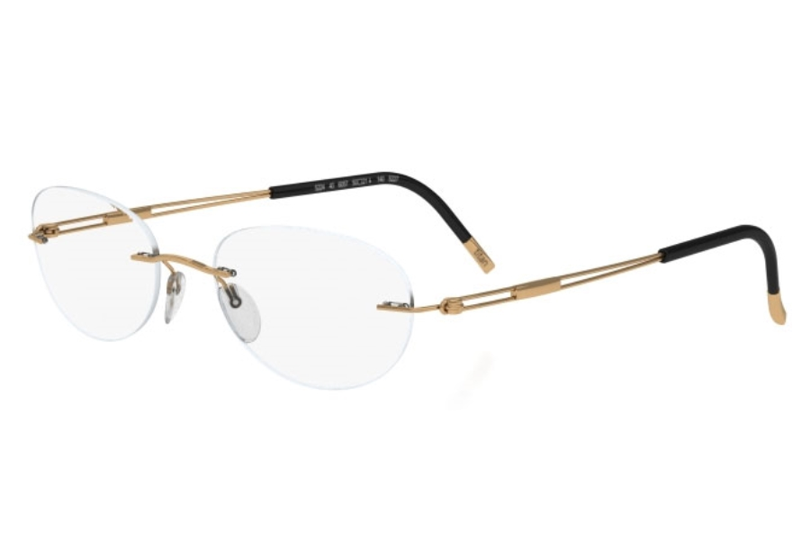 Silhouette 4304 (5227 Chassis) Eyeglasses in 6051 Gold