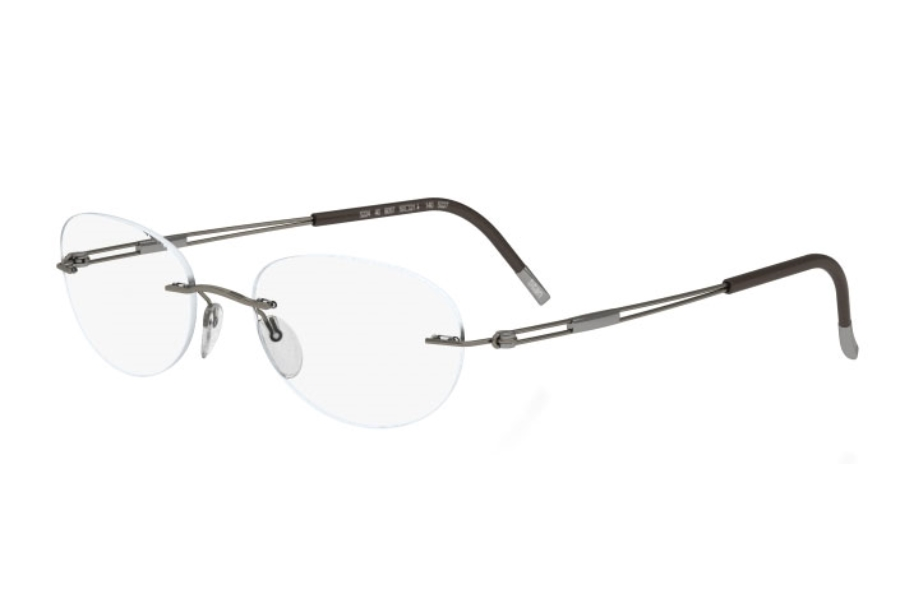 Silhouette 4304 (5227 Chassis) Eyeglasses in 6052 Brown