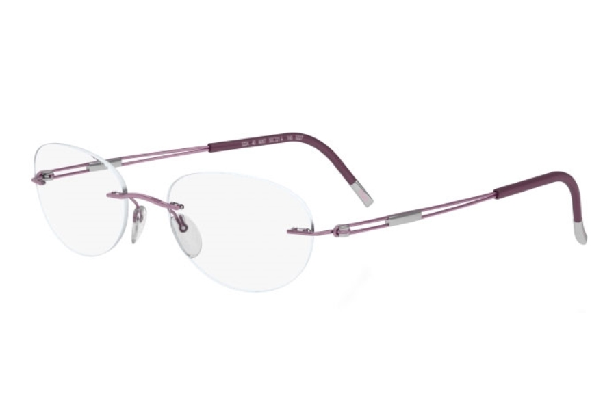 Silhouette 4304 (5227 Chassis) Eyeglasses in 6053 Rose