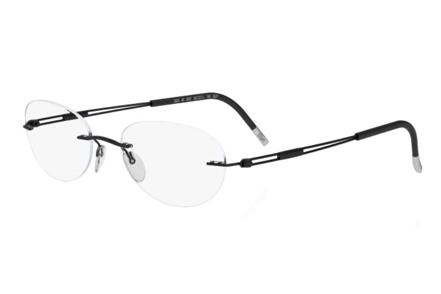 Silhouette 4304 (5227 Chassis) Eyeglasses in 6060 Black