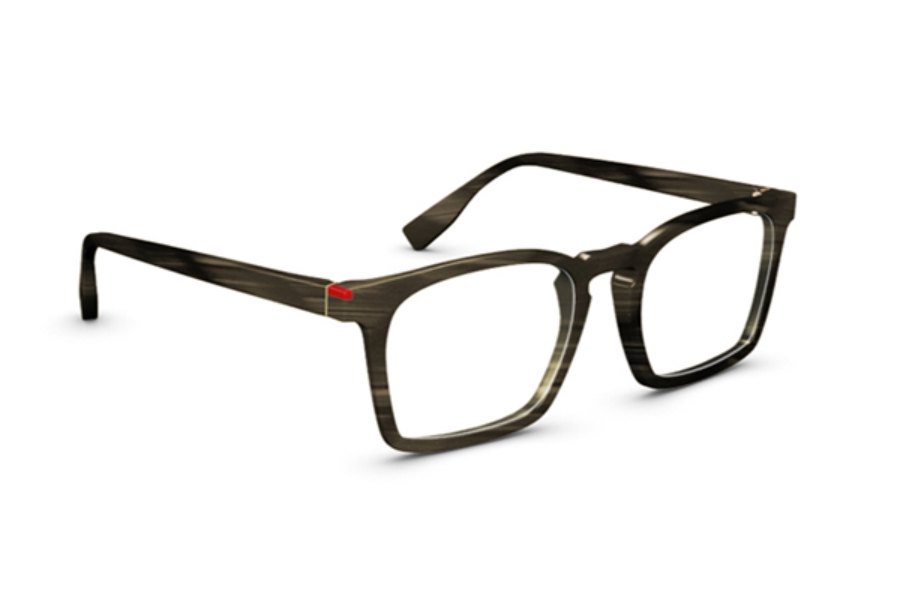 Simple Wynwood Eyeglasses in Chocolat Strié