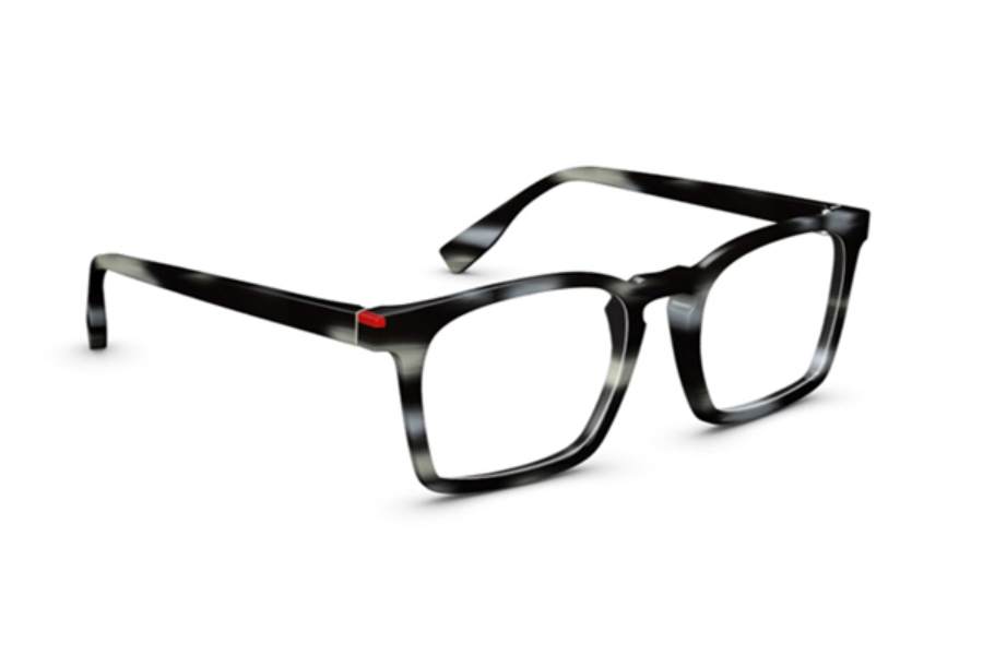 Simple Wynwood Eyeglasses in Gris Marbré