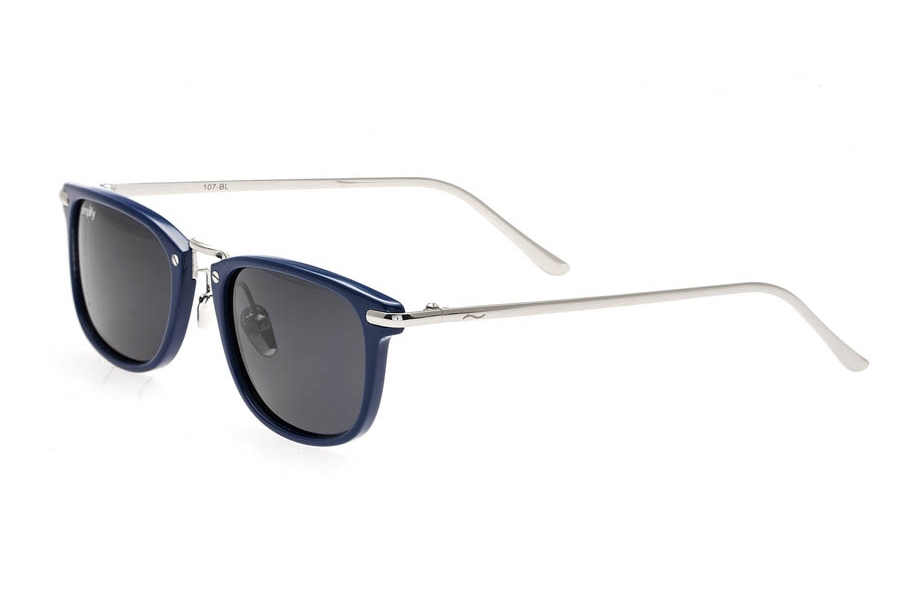 Simplify Foster Sunglasses in Blue/Black