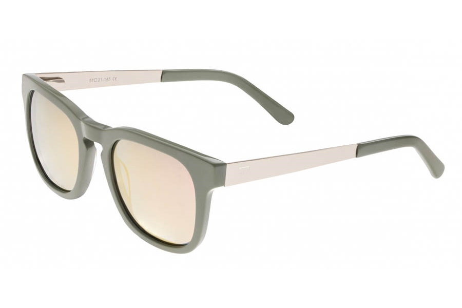 Sixty One Twinbow Sunglasses in Mint/Rose Gold