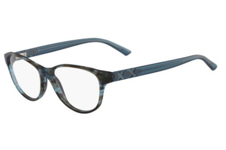 Skaga of Sweden SK2778 SAGA Eyeglasses in 460 Blue Brown