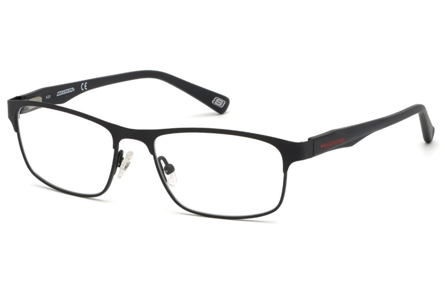 Skechers SE 3230 Eyeglasses in 002 - Matte Black
