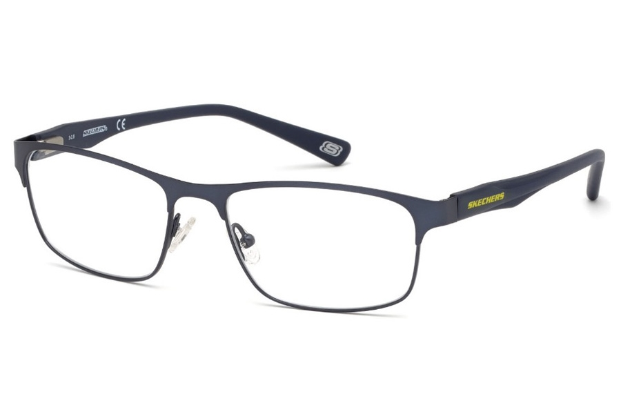 Skechers SE 3230 Eyeglasses in 091 - Matte Blue