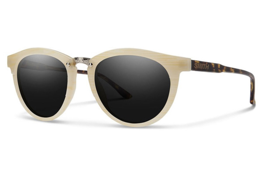 Smith Optics Questa Sunglasses in Ivory Tort / Blackout Ivory Tort / Blackout (49 Eye Size Available)