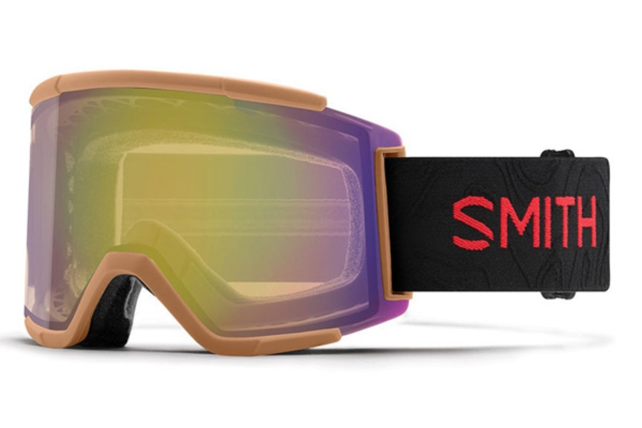 Smith Optics Squad XL Continued Goggles in AC - Cody Townsend / ChromaPop Storm Yellow Flash