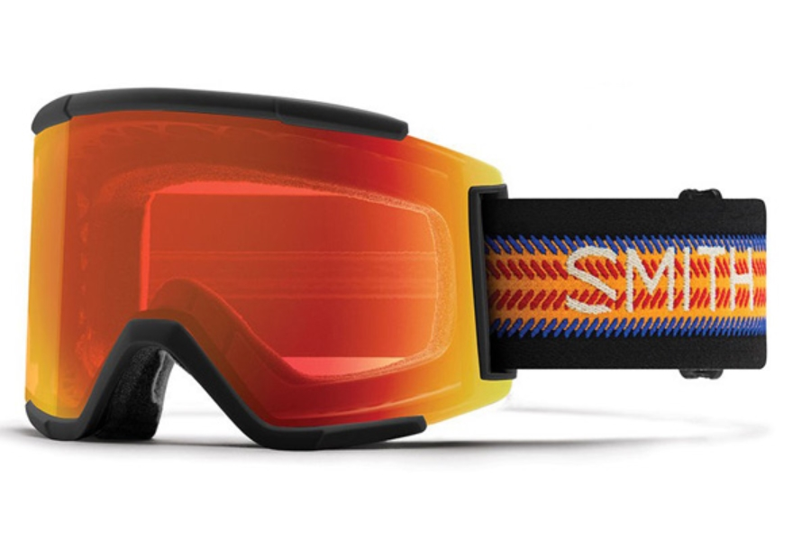 Smith Optics Squad XL Continued Goggles in AC - Louif Paradis / ChromaPop Everyday Red Mirror